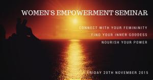 Womens Empowerment Seminar | Inner Sanctuary
